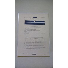 CLANSMAN PRC350 EMER MISCELLANEOUS INSTRUCTIONS